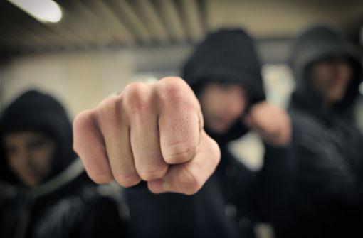 Geschlagen, getreten und gegen die S-Bahn gestoßen