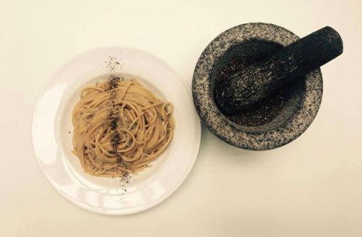 Ein Pasta-Gruß aus Rom