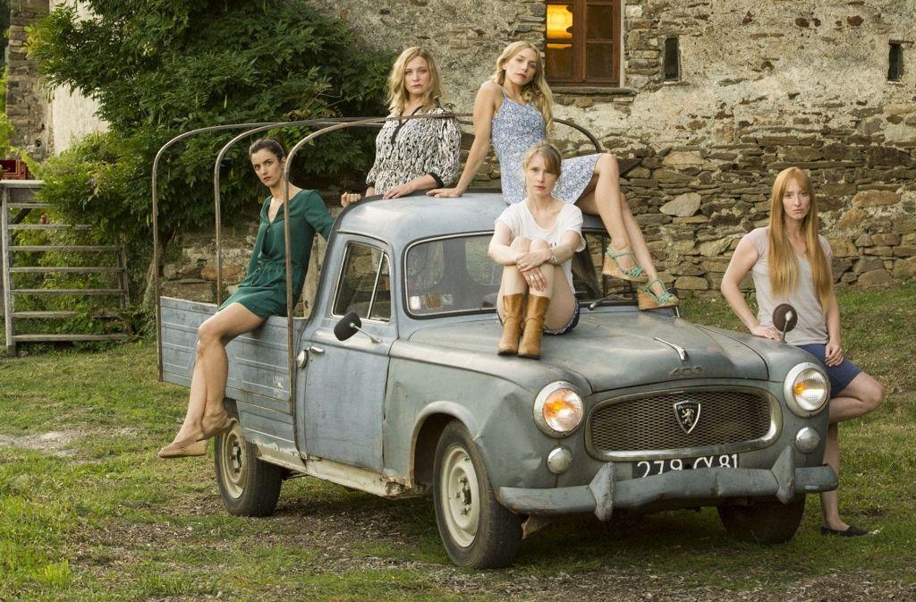 """Die  """"5 Frauen"""" in Urlaubsstimmung. Foto: Verleih"""