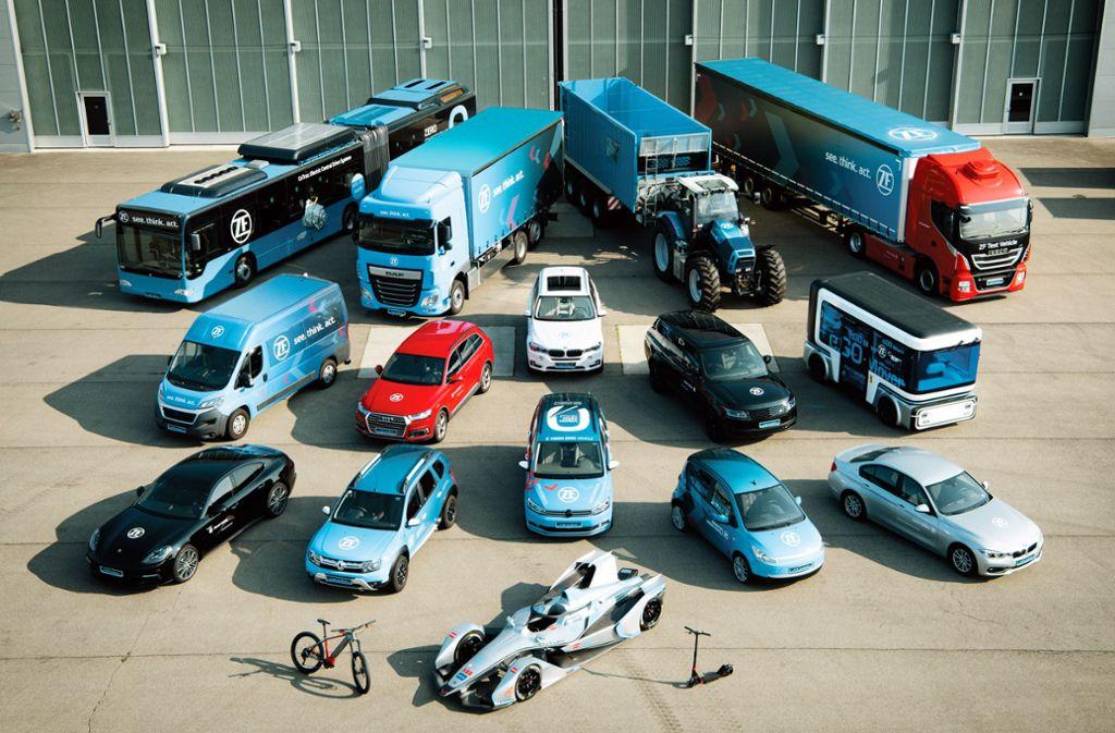 Autoindustrie - ZF – Daimlers Partner und Konkurrent