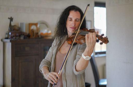 Die erste Geige im Orchester