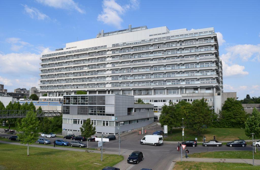 Im Herzen der Uni droht die größte Baustelle. Das Naturwissenschaftliche Zentrum ist in die Jahre gekommen. Foto: Alexandra Kratz