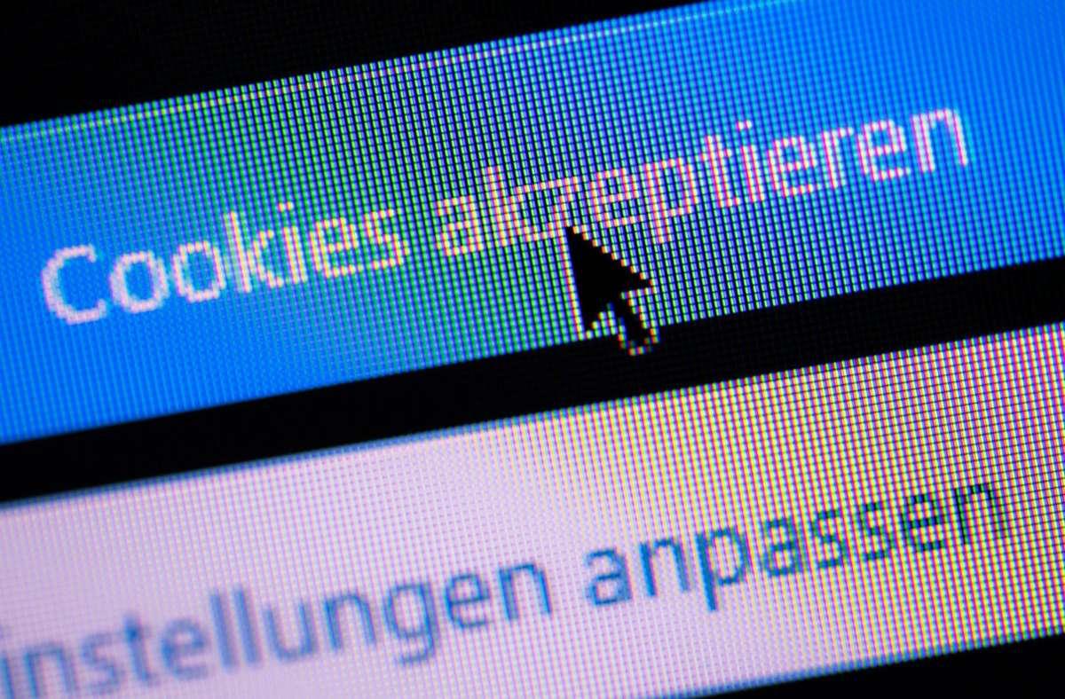 Die europäische Datenschutzorganisation Noyb hat ein technisches Konzept für Web-Browser vorgelegt, dass die umstrittenen Cookie-Banner obsolet machen würde (Symbolbild). Foto: dpa/Lino Mirgeler