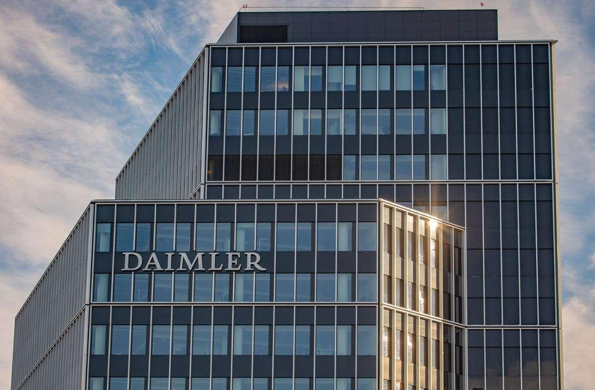 Daimler legt am Donnerstag die Bilanz 2020 vor. Foto: imago images/Eibner/Eibner-Pressefoto