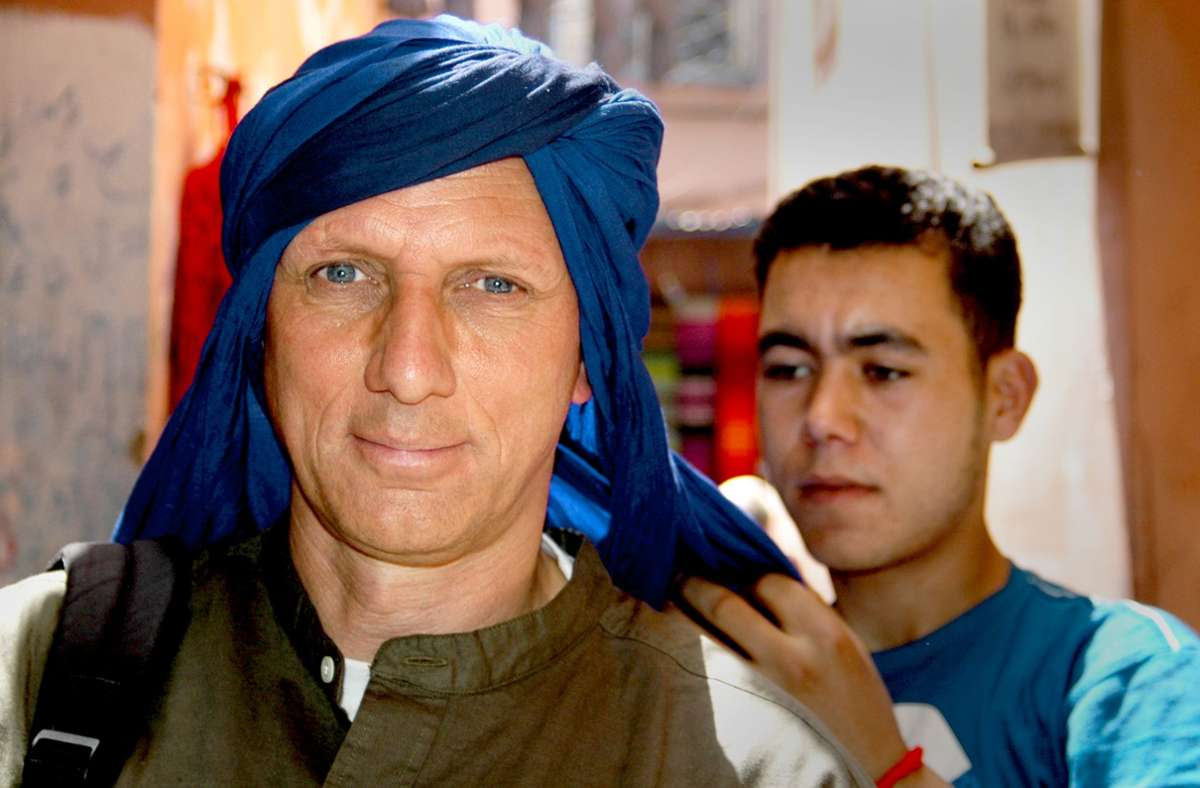 Auslandskorrespondent Knut Krohn – hier in Marrakesch auf dem Weg in die Wüste. Foto: Knut Krohn
