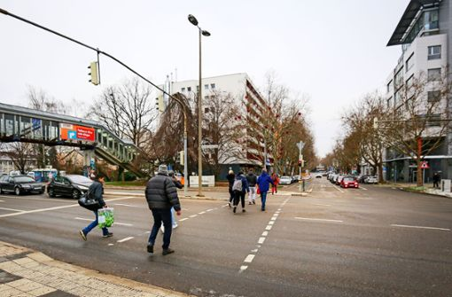 Die Mercedesstraße soll aufpoliert werden
