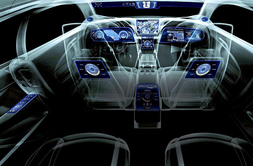 Das kalifornische Unternehmen Nvidia hat einen Supercomputer fürs Auto entwickelt. Foto: Nvidia