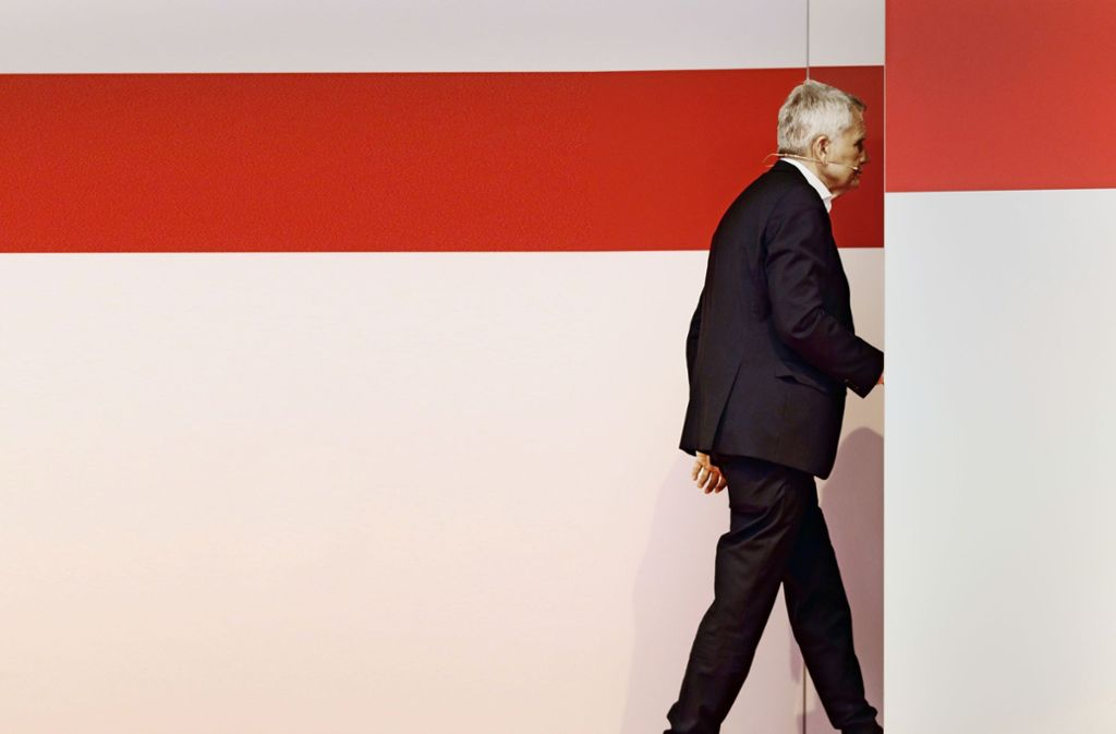 Gesucht wird ein Nachfolger für den Mitte Juli als VfB-Präsident zurückgetretenen Wolfgang Dietrich. Foto: Baumann