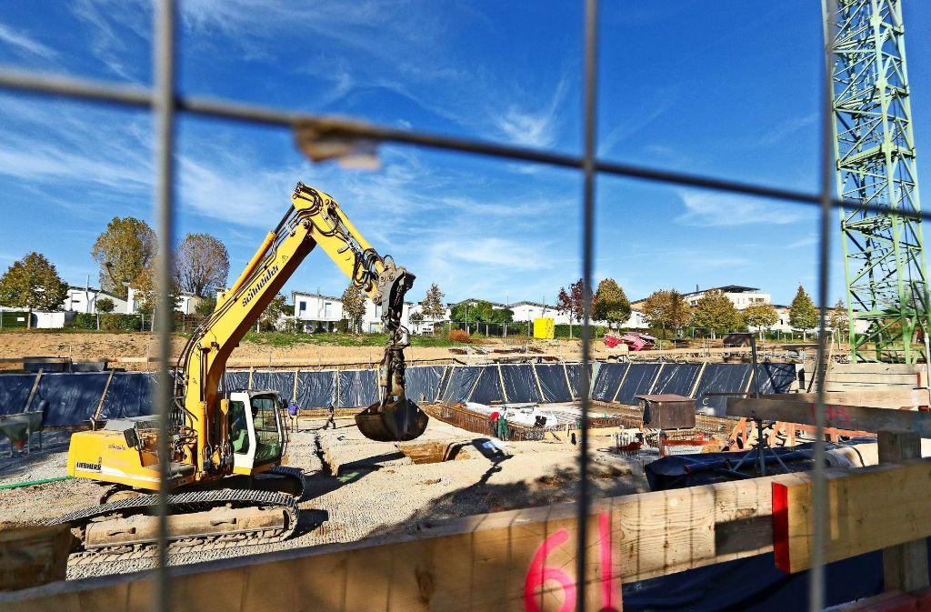 Die Baugrube ist ausgehoben, nun kann der  Hausbau beginnen. Foto: factum/Granville