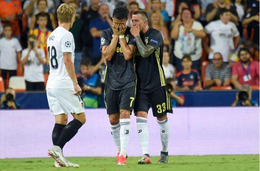 Cristiano Ronaldo bricht nach Platzverweis in Tränen aus
