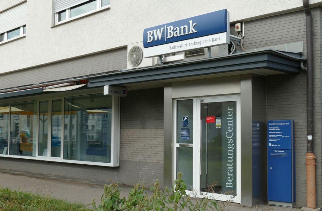 Bei der BW-Bank soll es vorerst keine negativen Zinsen geben Foto: Nagel