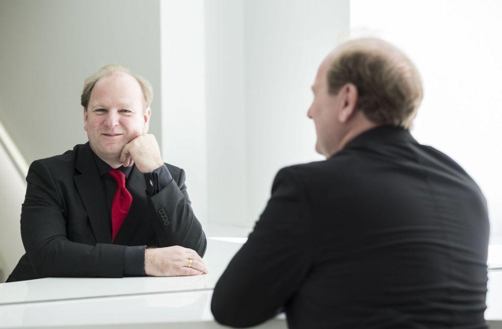 Jörg-Hannes Hahn verbindet gerne Bekanntes mit Unbekanntem Foto: Victor S. Brigola