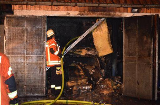Polizei fahndet nach einem Feuerteufel