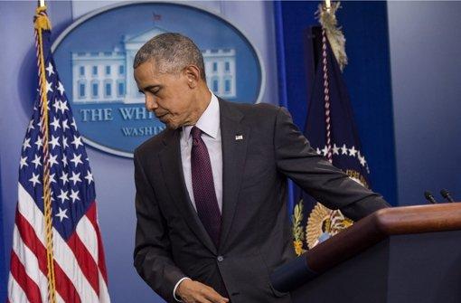 Obama zeigt sich tief erschüttert
