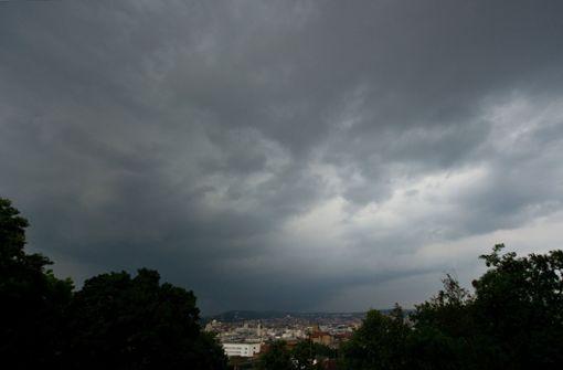Wetterdienst warnt vor Gewittern mit Starkregen