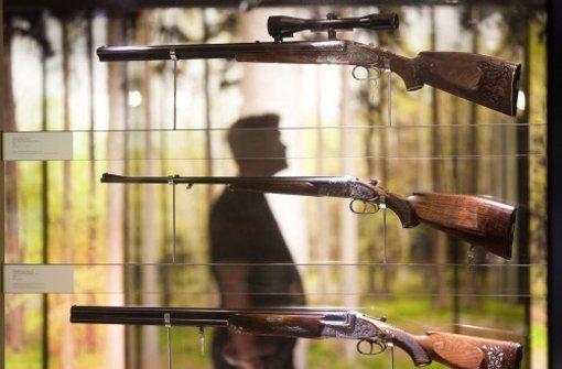 Nicht nur im Waffenmuseum in Suhl (Bild) befinden sich Jagdwaffen. Foto: dpa