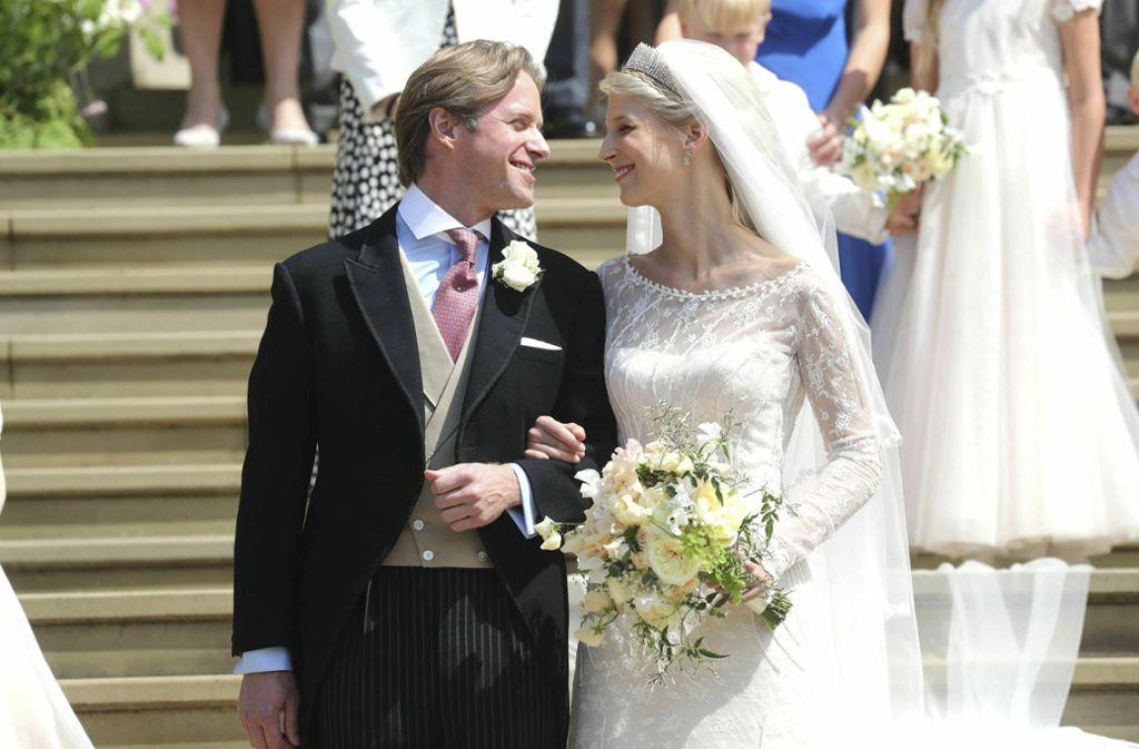 Lady Gabriella Windsor ist die Tochter eines Cousins von Königin Elizabeth. Foto: AP