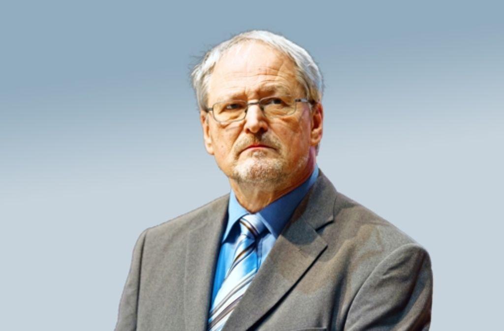 Der heutige AfD-Mann Bernd Grimmer gründete Anfang der 80er Jahre die Grünen mit. Direktmandate errangen Bernd Grimmer (oben) und Rüdiger Klos. Foto: AfD