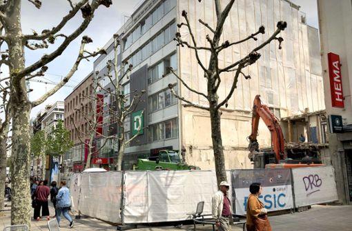 Wempe-Haus an der Königstraße abgerissen