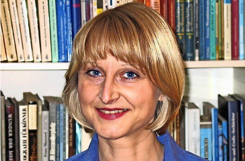 Martina Fiess findet die Komposition beim Bücherschreiben spannend. Foto: privat
