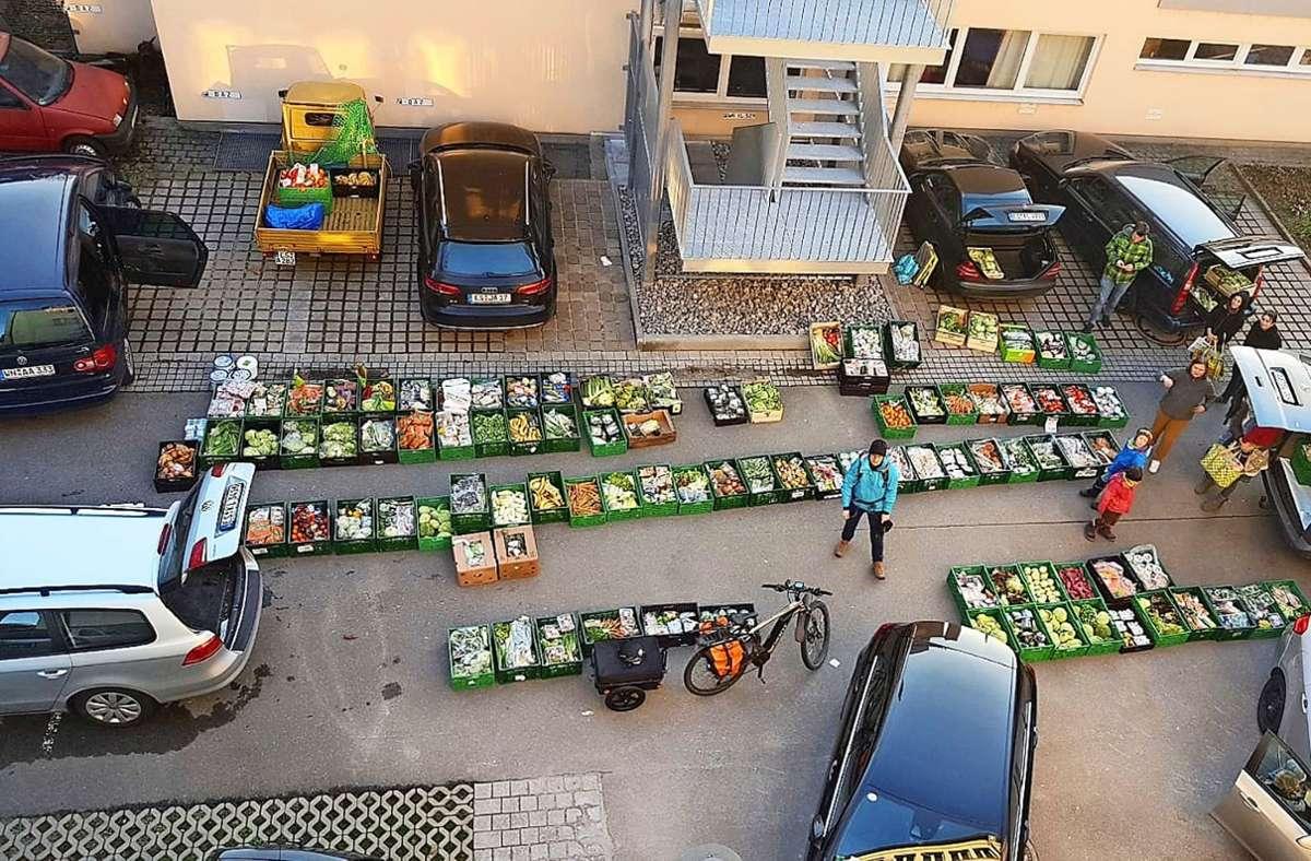 Rund 1600 Tonnen Lebensmittel haben die Foodsharer im Kreis Esslingen seit 2013 vor der Tonne bewahrt. Foto: Sem Schade/oh