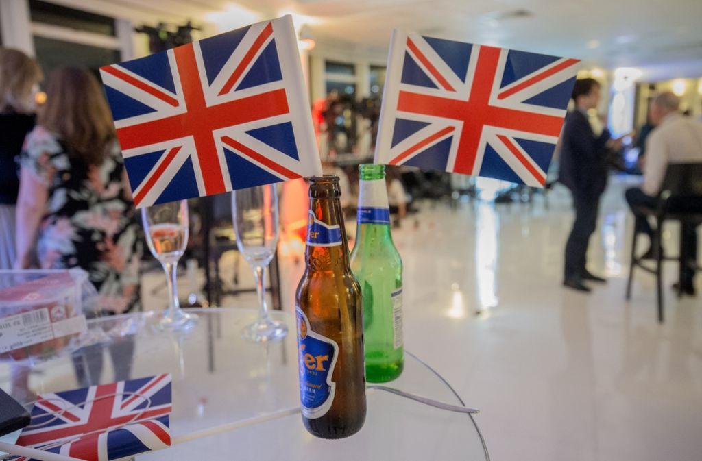 Die Briten sagen bye-bye zur EU. Foto: AFP