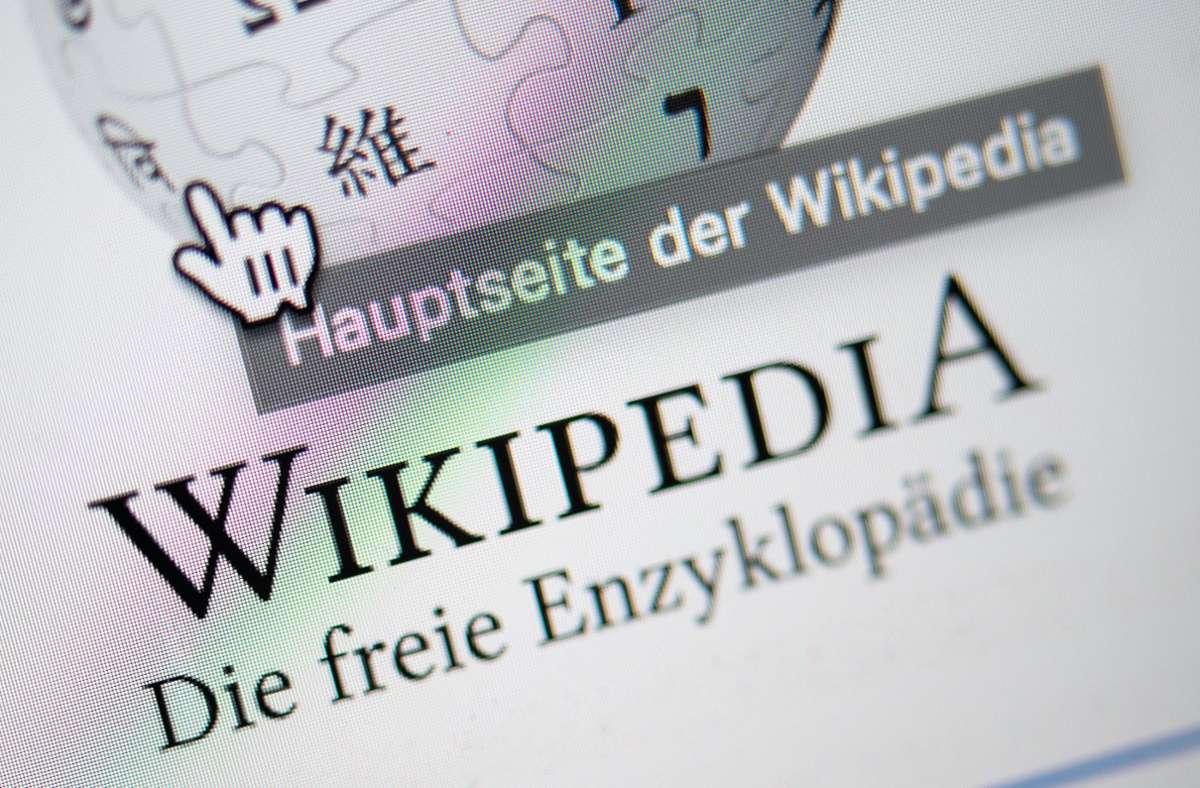 Die Online-Enzyklopädie feiert Geburtstag. Foto: dpa/Sebastian Gollnow