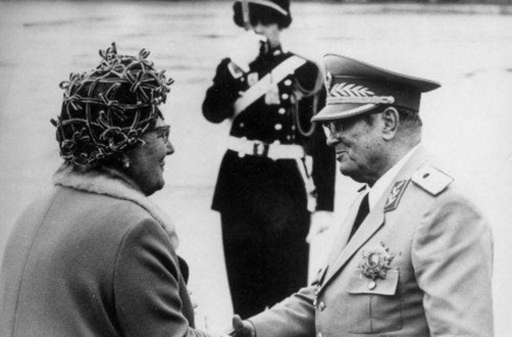 Schillernde Figur: Tito (hier bei einem Besuch in den Niederlanden 1970). Foto: AP