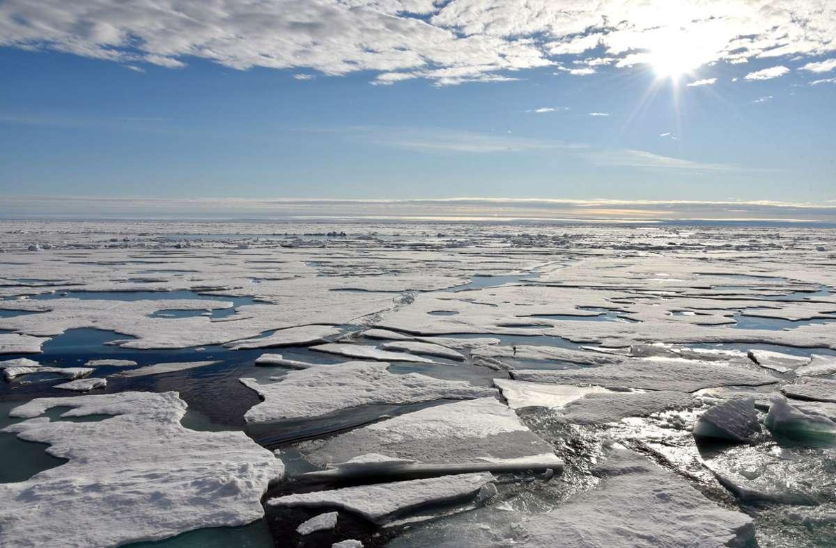 Aufgrund der Eisschmelze in der Arktis erwartet der Politikwissenschaftler Carlo Masala künftig mehr Konflikte in der Region. Foto: dpa
