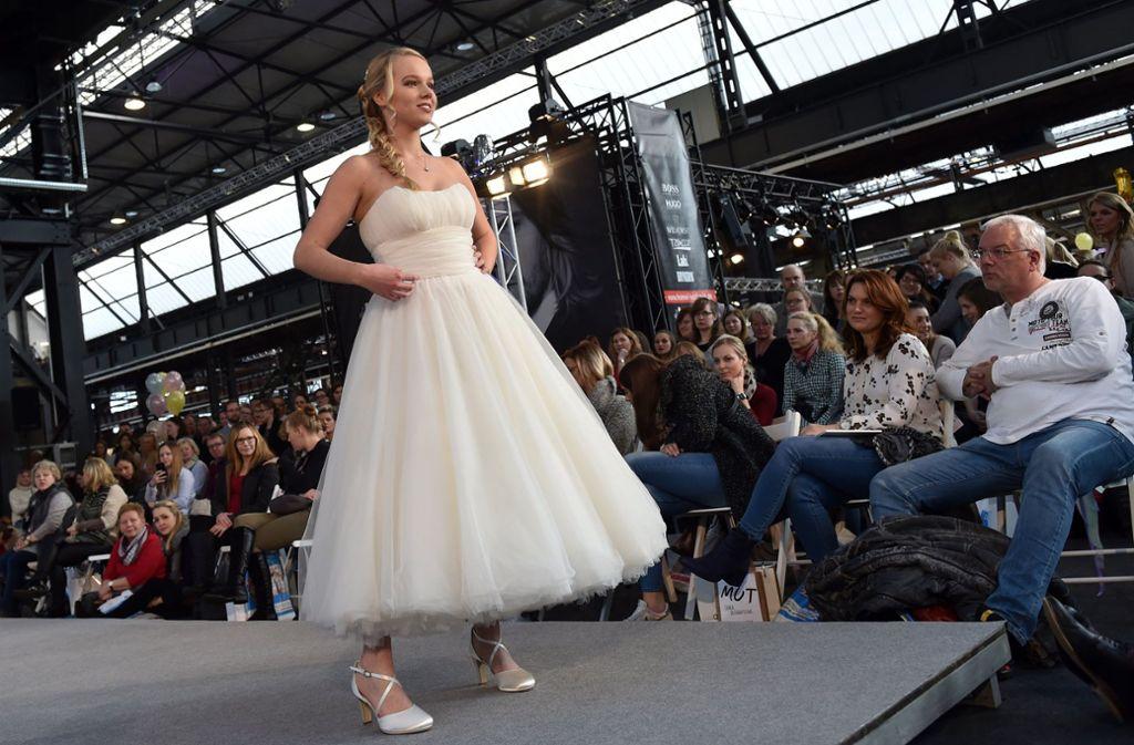 """Die 25. Hochzeitsmesse """"Trau Dich!"""" zieht am Wochenende Besucher aus der ganzen Region Stuttgart an. Foto: dpa"""