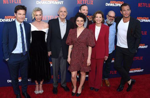 Portia de Rossi und Kollegen feiern Premiere der fünften Staffel