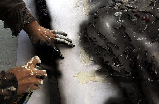 Polizei nimmt Graffiti-Sprüher fest