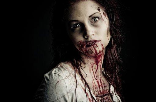 Horror-Make-up mit Gelatine und Cornflakes