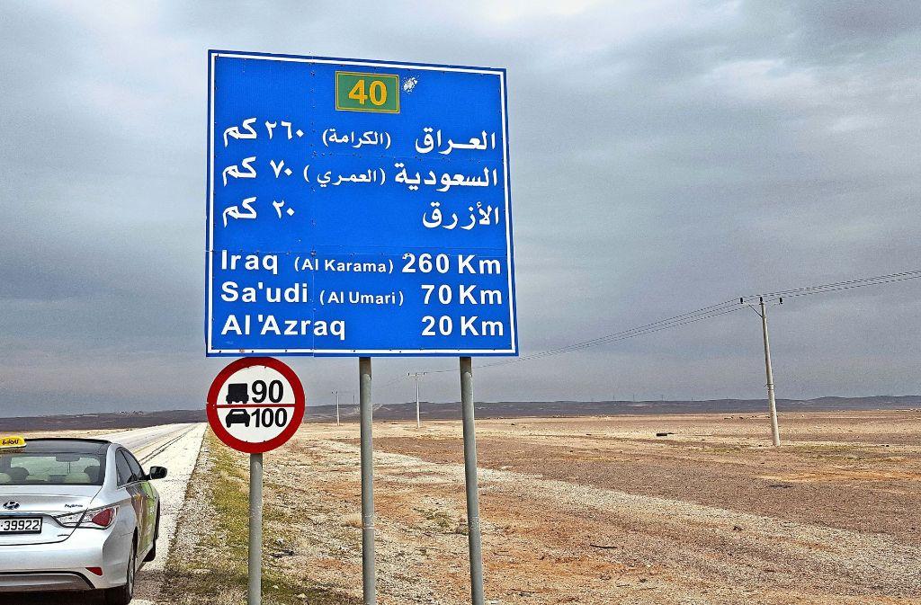 Die Bundeswehr steht vor einem Einsatz im Niemandsland – die Grenzen zu  Syrien, dem Irak und Saudi-Arabien sind nicht weit. Foto: Matthias Schiermeyer