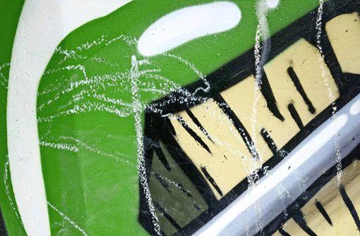 Graffiti besudelt
