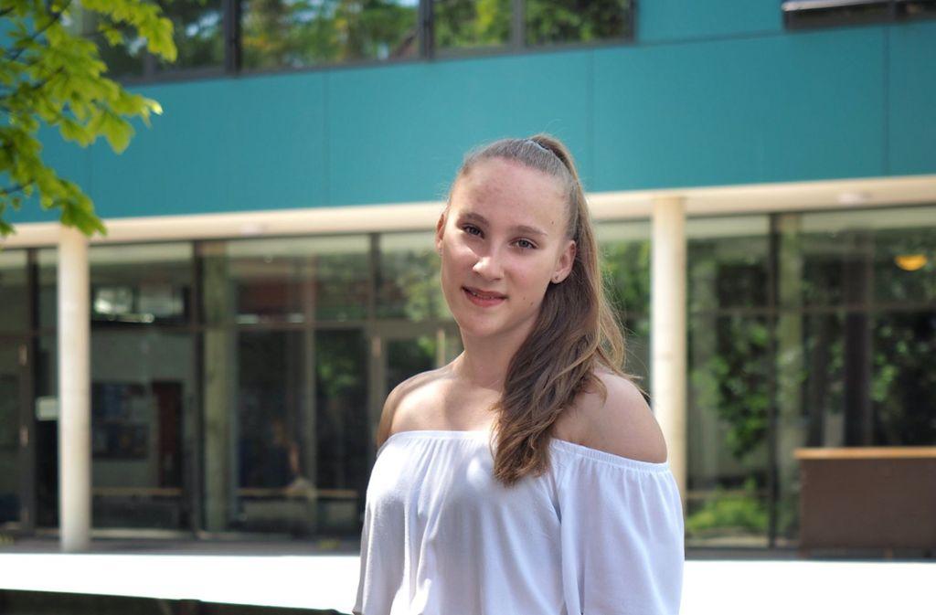 Mandy Hoffmann ist 14 und hat das Abitur schon in der Tasche. Foto: dpa