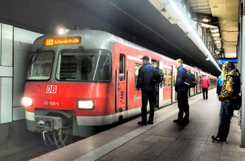 Ein Fehlalarm aufgrund von Bauarbeiten sorgte im morgendlichen S-Bahn-Verkehr am Hauptbahnhof für Ausfälle (Symbolbild).    Foto: Leserfotograf burgholzkaefer