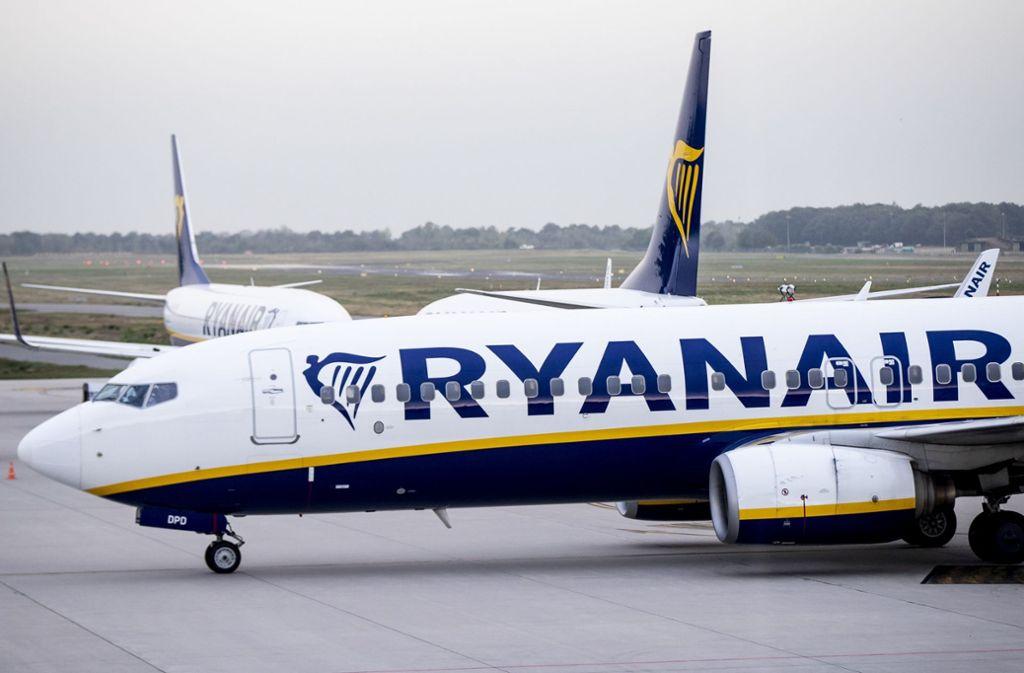 Die Beschäftigten von Ryanair fordern höhere Löhne und bessere Arbeitsbedingungen. Foto: dpa