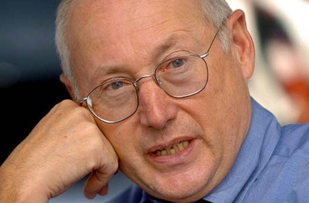 Ex-Spiegel-Chefredakteur Stefan Aust. Foto: dpa