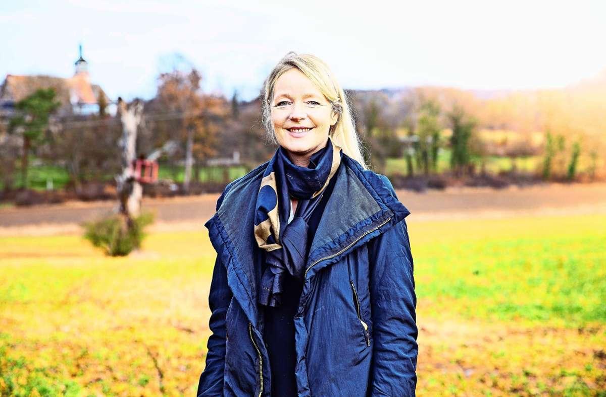 Mit einem  geringfügig besseren  Ergebnis gegenüber 2016 hat Thekla Walker (Grüne) den Wahlkreis klar gewonnen und zieht direkt in den Landtag ein. Foto: Stefanie Schlecht