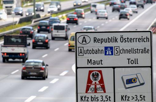 Keine Vignette mehr an fünf grenznahen Autobahnstrecken