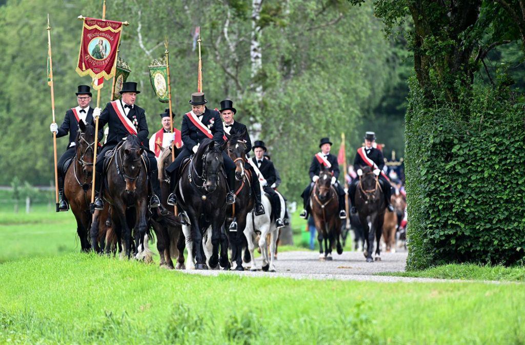 Der Blutritt in Weingarten hat Tradition, dieses Jahr wird es durch die Corona-Pandemie aber etwas anders (Archivbild). Foto: dpa/Felix Kästle