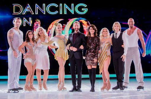 """Das sind die Teilnehmer bei """"Dancing on Ice"""" in Sat.1"""