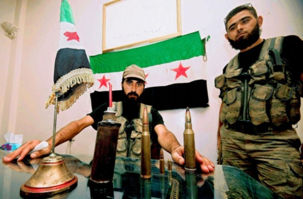 Die Rebellen der Freien Syrischen Armee haben die Kleinstadt Azaz erobert. Foto: AP