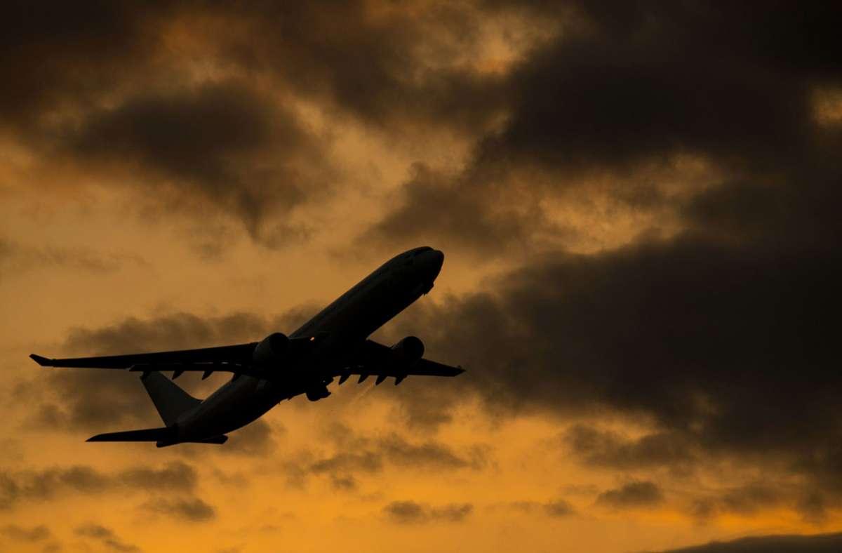 Die Person war  am Donnerstag aus Brasilien in Frankfurt angekommen. (Symbolbild) Foto: dpa/Boris Roessler