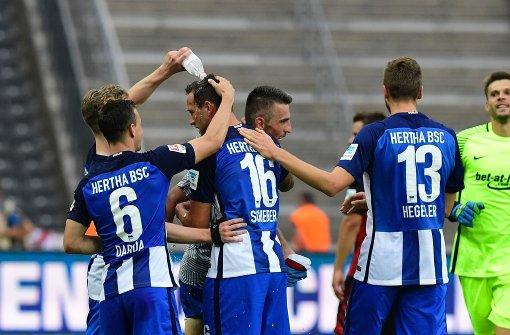 Schieber schießt Hertha zum Sieg gegen Freiburg