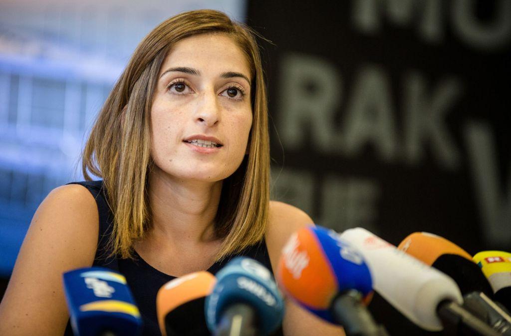 Die deutsche Journalistin Mesale Tolu war in der Türkei wegen Terrorvorwürfen festgehalten worden. Foto: dpa