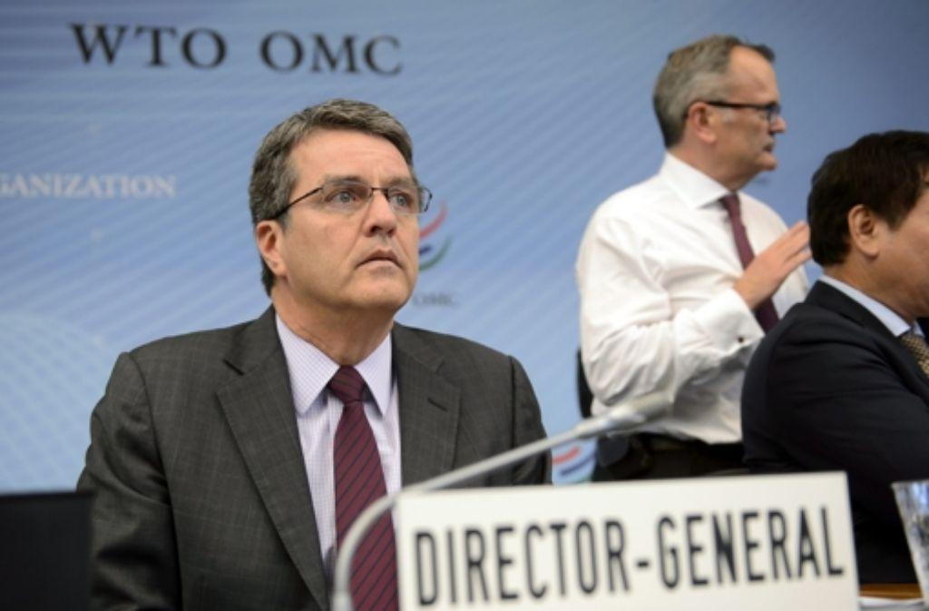WTO-Generaldirektor Roberto Azevedo hat den Durchbruch geschafft. Foto: KEYSTONE