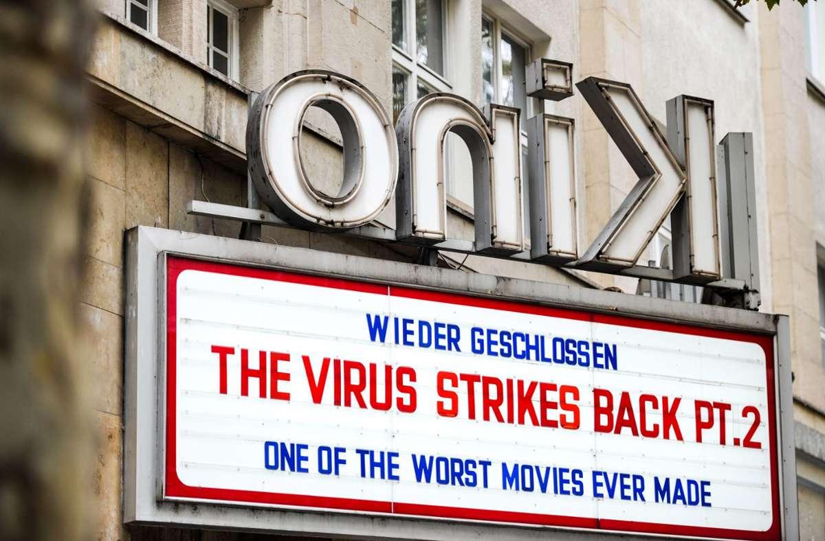 Momentan sind alle Kinos wie das Delphi in der Tübingerstraße geschlossen. Foto: Lichtgut/Max Kovalenko