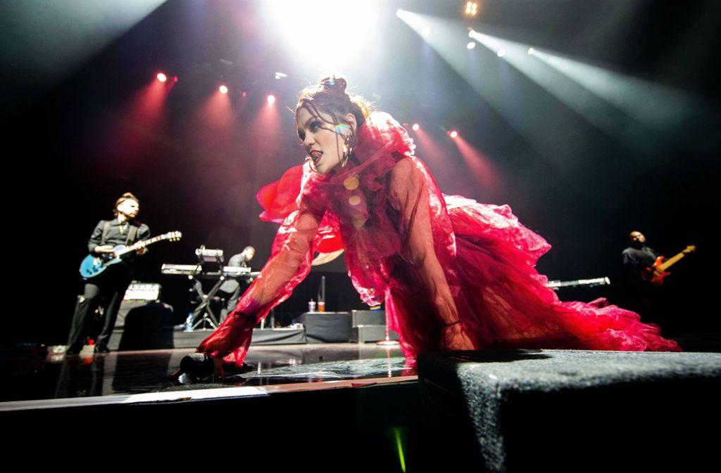 Einer der Stars der diesjährigen Jazz Open; die Britin Jessie J – hier bei einem Auftritt in Amsterdam Foto: imago/Hollandse Hoogte